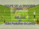 Coupe de la Corrèze 2010 - SEILHAC vs St Pantaleon Larche