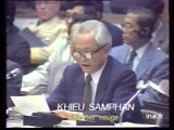 CONFERENCE CAMBODGE : KHIEU SAMPHAN KHMER ROUGE