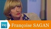 """Françoise Sagan """"Avec mon meilleur souvenir"""" - Archive INA"""