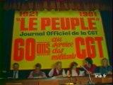 Début congrès CGT