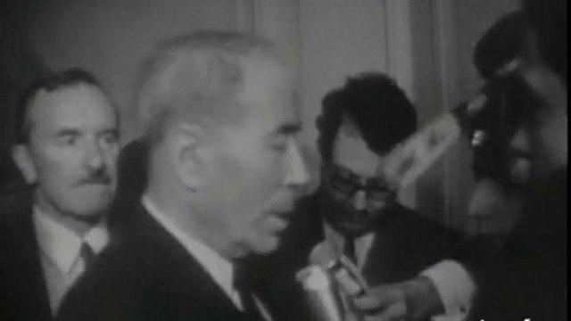 Entretiens de Messieurs Georges Pompidou et  Antoine Pinay