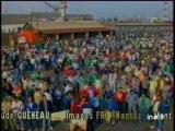 Grève chantiers navals saint Nazaire