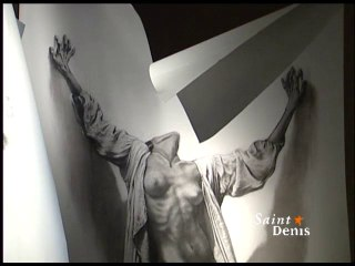 Ernest Pignon-Ernest s'expose à Saint-Denis