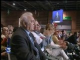 Dernier meeting Chirac à Villepinte : il s'en prend à l'extrêmisme