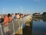Nantes / St Séb : inauguration pont Léopold Sédar Senghor