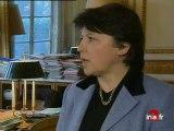 Chiffres chômage / Martine Aubry