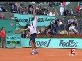 [Tennis. Internationaux de France : Roland Garros 2007 : 8èmes de finale]