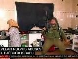 Nuevas imágenes revelan abusos del Ejército israelí