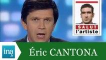 Eric Cantona arrête le football - Archive INA