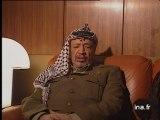 Décès de François Mitterrand : réaction Arafat