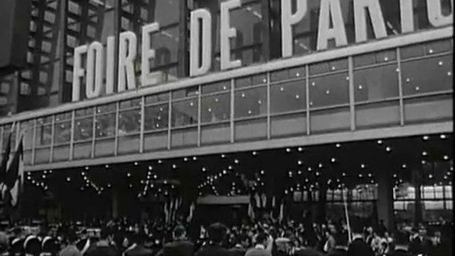 Georges Pompidou à la Foire de Paris 1965 - Archive INA