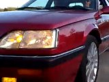 Renault R25 V6 Turbo : Accélération