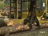 Installation d'une chaudière à bois à Faverges.