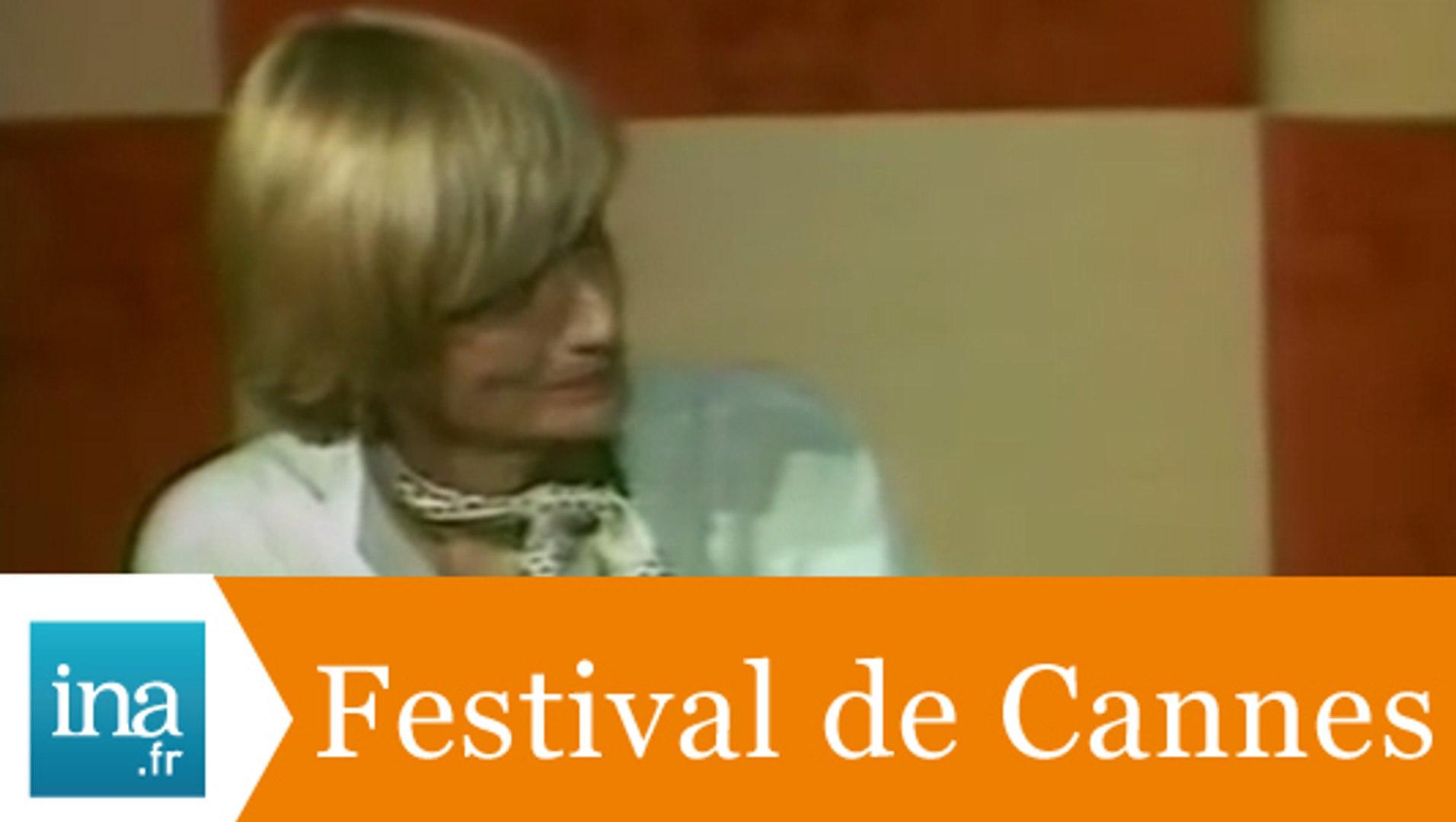 Françoise Sagan, présidente du jury à Cannes - Archive INA