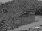 Le tremplin de saut à skis de Saint Nizier de Moucherotte