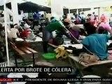 Son más de tresmil los casos de cólera confirmados en Haití