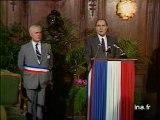 Mitterrand à la mairie d'Amiens