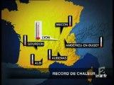 Eté 2003 Canicule sur la France, records de chaleur - Archive vidéo INA