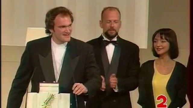 """Direct Cannes : Palme d'or à Quentin Tarantino pour """" Pulp fiction """""""