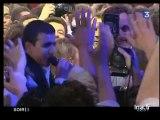 A la veille de son sacre, Nicolas Sarkozy ouvre les festivités avec des jeunes de l'UMP