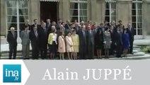 1er conseil des ministres du gouvernement Juppé - Archive INA