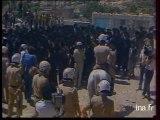 Manifestation de juifs orthodoxes à Jérusalem