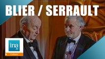 Michel Serrault remet un César à Bernard Blier en 1989 - Archive INA