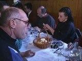 La dégustation des vins en altitude à l'Aiguille du midi
