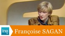 """Françoise Sagan """"Mémoire et lois de l'Homme"""" - Archive INA"""