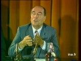 François  Mitterrand et Margaret Thatcher - Archive vidéo INA