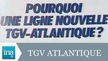 Les difficultés du réseau TGV Atlantique - Archive INA