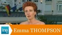 "Emma Thompson ""Mon rôle dans Primary Colours"" - Archive INA"
