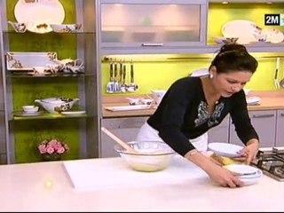 Recette Tarte amandes fruits secs et mini cake chapelure