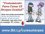 Como curar herpes Genital -  Tratamiento herpes genital