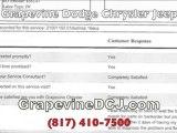 NO Grapevine Chrysler Jeep Dodge Complaints
