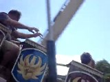 Allegany County Fair: pirate ship ride. Angelica, NY