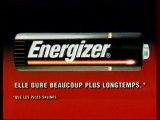 Publicité Energizer 1993