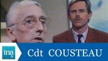 Le commandant Cousteau ne se présentera pas aux présidentielles