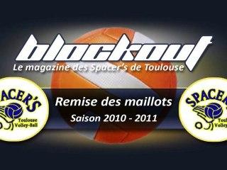 blockout n°6 Remise des maillots pour la saison 2010-2011