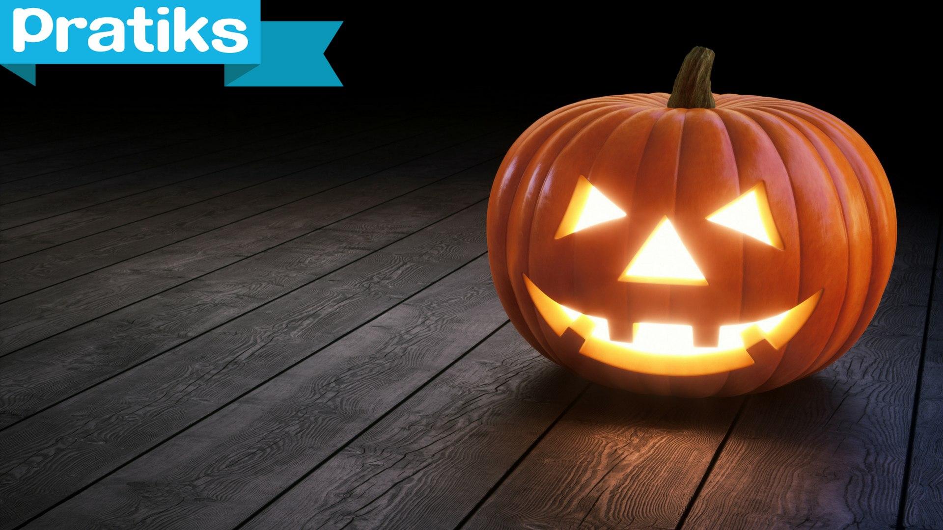 Comment Faire Une Citrouille Pour Halloween.Comment Faire Une Citrouille Lanterne Lumineuse Pour Halloween