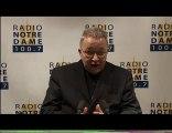 Entretien du Cardinal - Radio Notre Dame - 30/10/2010