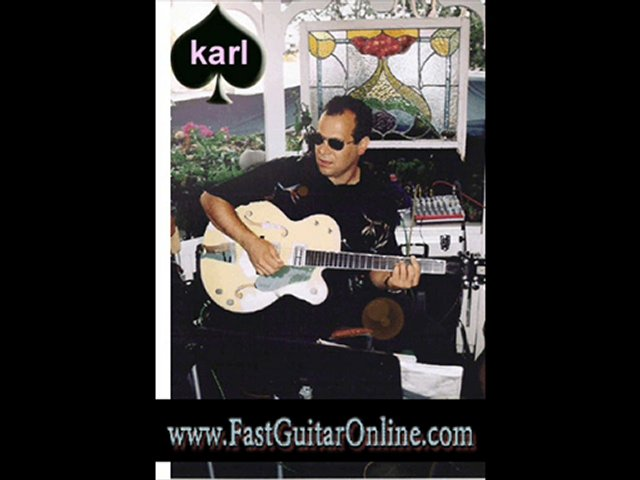 learn guitar note fast