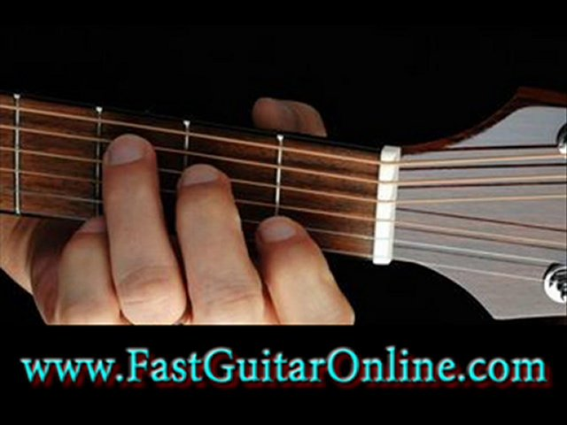 learning guitar scales fast