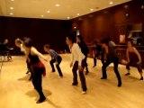 Danse Aida Téléthon 2010 répétition 10 nov 2010