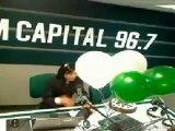 CUMPLEAÑOS DE MARISOL TOBALINA EN RADIO CAPITAL 96.7