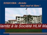 SOGICOBA Biarritz SA HLM ERILIA Vente 650 logements sociaux