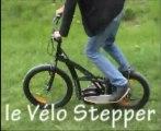 Le Vélo stepper - steppez au lieu de pédaler !