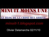 Olivier Delamarche BFM radio du 2 novembre 2010 - 02/11/2010