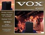 Ampli acoustique Vox AGA150 (La Boite Noire)