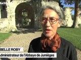Les travaux à l'Abbaye de Jumièges